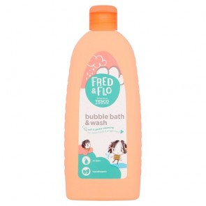 Fred & Flo Bubble Bath & Wash 500Ml