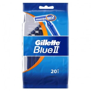 Gillette Blue 2 Disposable Razors 20 Pack.
