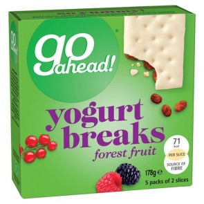Go Ahead Yogurt Breaks Forest Fruit 5X35.5G