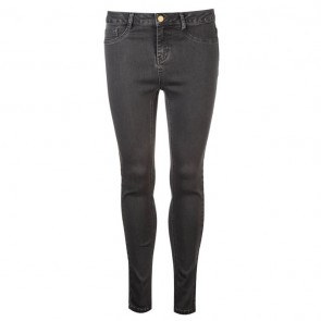 Golddigga Jean Jegging Ladies - Washed Charcoal.