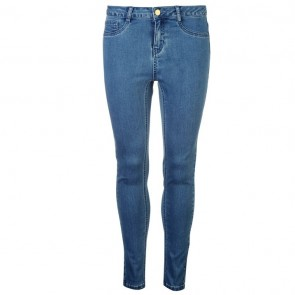 Golddigga Jean Jegging Ladies - Washed Light Blue.