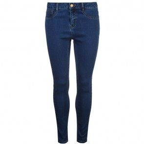 Golddigga Jean Jegging Ladies - Washed Mid Blue.