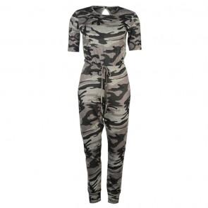 Golddigga Jumpsuit Ladies - Camo.