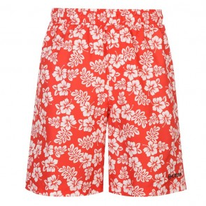 Hot Tuna Aloha Shorts Men - Red.