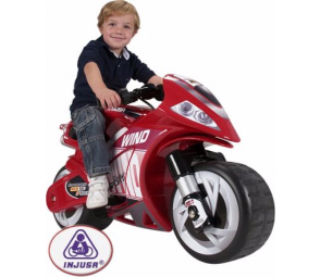 Injusa Wind Child's 6 Volt Motorbike
