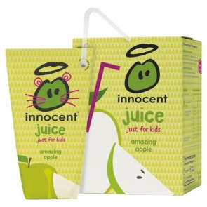 Innocent Kids Apple Juice Not From Concentrate 4 X 180Ml