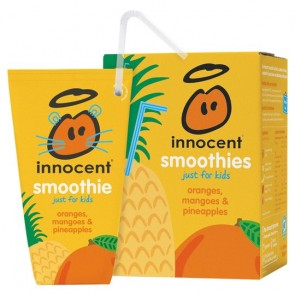 Innocent Kids Mango Pineapple Smoothie 4X180ml