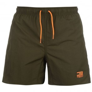 Jack and Jones 3Tech Basic Swim Shorts - Forest.