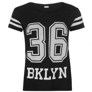 JDY Mallie T Shirt - Black.