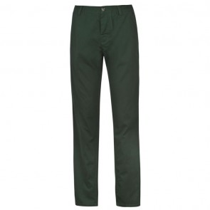 Kangol Chino Trousers - Dark Green.