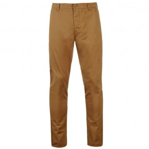 Kangol Chino Trousers - Dark Sand.