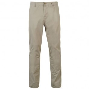 Kangol Chino Trousers - Light Grey.