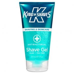 King Of Shaves Antibacterial Shave Gel 150Ml.