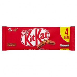 Kit Kat Milk Chocolate 4 Pack 166G