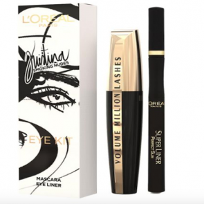 L'Oreal Paris  Kristina Bazan Smoking Nude Eye Kit.