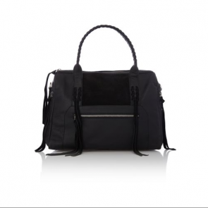 Label Lab Dillon Bowler Handbag - Black.