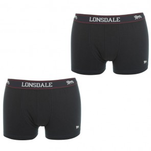 Lansdale 2 Pack Trunk Mens Boxers - Navy.