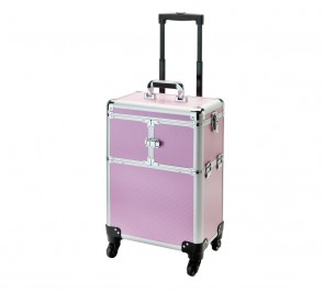 Large Pink Trolley Case.