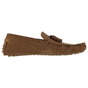 Lee Cooper Fashion Boat Mens Shoes - Tan.