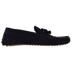 Lee Cooper Fashion Boat Mens Shoes - Navy.