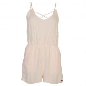 Lee Cooper Strappy Jumpsuit Ladies - Light Cream.