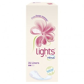 Lights By Tena Bladder Weakness Liners 24 Pack.