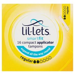 Lil Lets Applicator Regular Tampons 16 Pack.