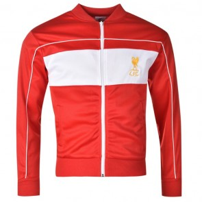 Liverpool 1982 Home Track Jacket Mens - Red.