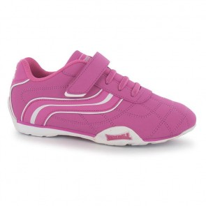 Lonsdale Camden Children's Trainers - Cerise.