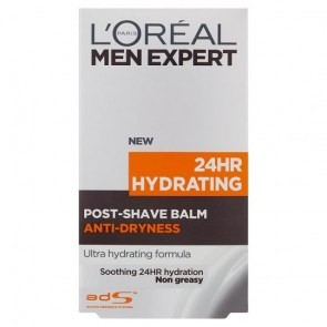 Loreal Men 100Ml 24 Hour Hydrating Post Shave Balm.