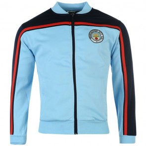 Manchester City 1982 Home Track Jacket Men - Sky.
