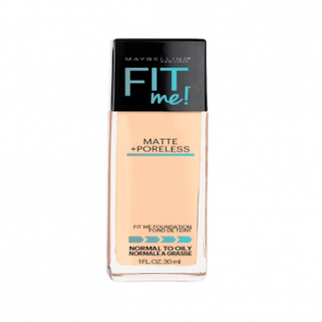Maybelline Fit Me ® Matte + Poreless Foundation - Warm Nude (128).