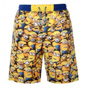 Minions Swim Shorts Mens.