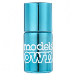 Models Own Colour Chrome Turquoise.