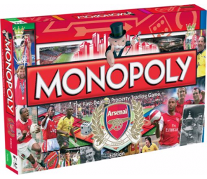 Monopoly Arsenal F.C. Edition Board Game