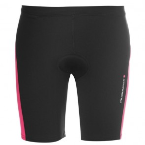 Muddyfox Cycling Padded Shorts Ladies - Black/Pink.