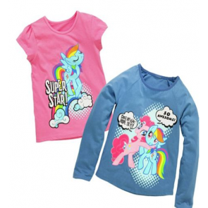My Little Pony 2 Pack of T-Shirts.