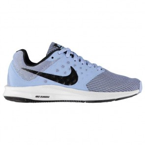 Nike Downshifter 7 Ladies Trainers - AluBlue/Black.