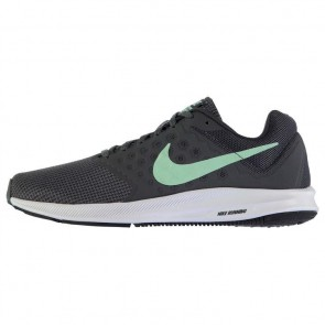 Nike Downshifter 7 Ladies Trainers - Anthrac/Green.