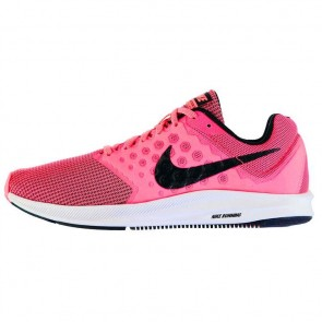 Nike Downshifter 7 Ladies Trainers - Pink/Pink.