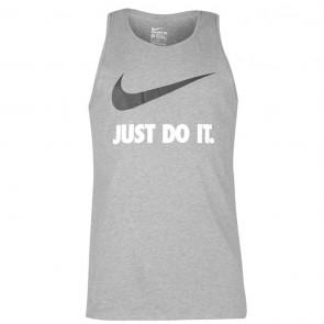 Nike Just Do It Swoosh Tank Mens - Grey.
