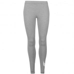 Nike Swoosh Leggings Womens - Grey.