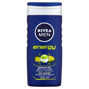Nivea Men Energy Shower Gel 250Ml.