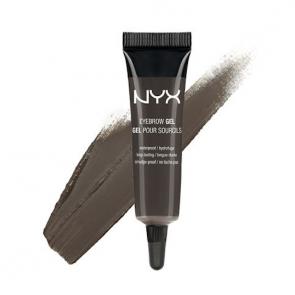 NYX Professional Makeup Eyebrow Gel - Black (BROWN BLACK).