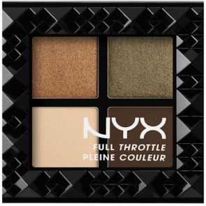 NYX Professional Makeup Full Throttle Shadow Palette - Easy On The Eyes.