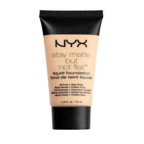NYX Professional Makeup Stay Matte But Not Flat Liquid Foundation - Ivory.