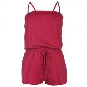 Ocean Pacific Jersey Jumpsuit Ladies - Raspberry.
