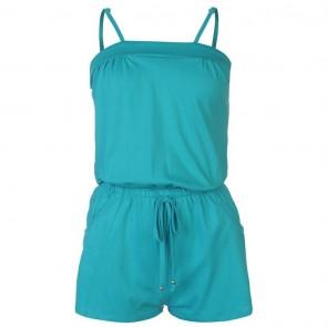 Ocean Pacific Jersey Jumpsuit Ladies - Teal.