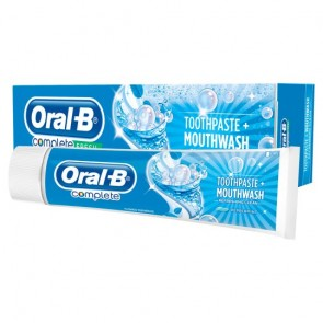 Oral-B Complete Mouthwash Plus Whitening Toothpaste 100Ml.