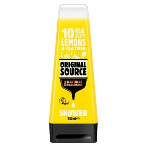 Original Source Lemon And Tea Tree Shower Gel 250Ml.